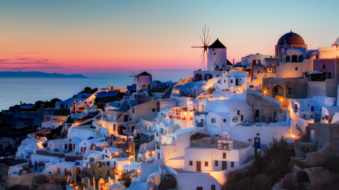 The Greek Islands:  Colorful ports & sun-drenched beaches