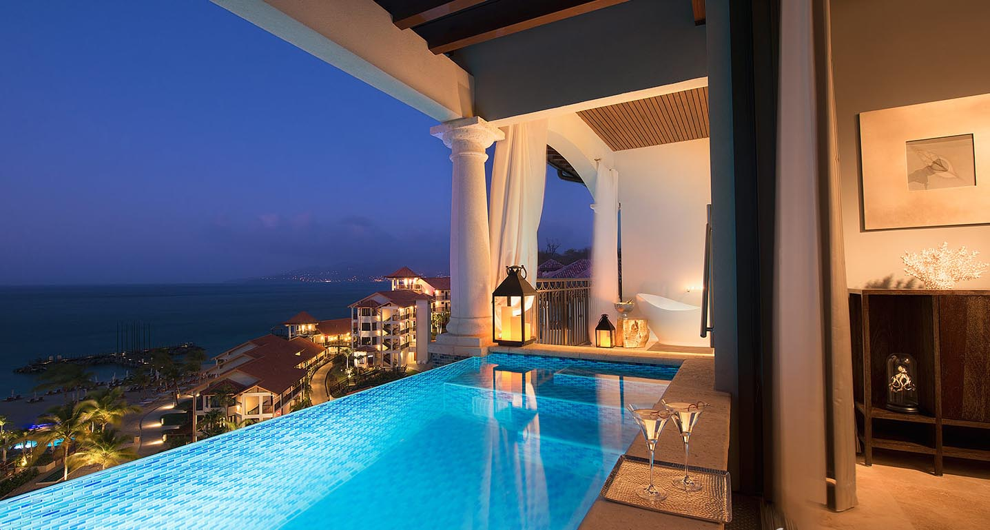 Sandals LaSource Grenada Sky Pool