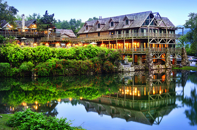 Big Cedar Lodge near Branson, Missouri