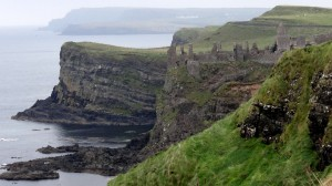 Windswept Dunluce Castle: Romantic Inspiration for Cair Paravel?