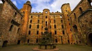 "Linlithgow Palace:  A ""fine but melancholy ruin"""