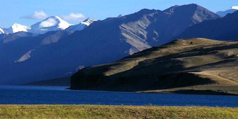 Tso Moriri Lake, Ladakh - Photo by Margarita, CC BY-SA 2.0