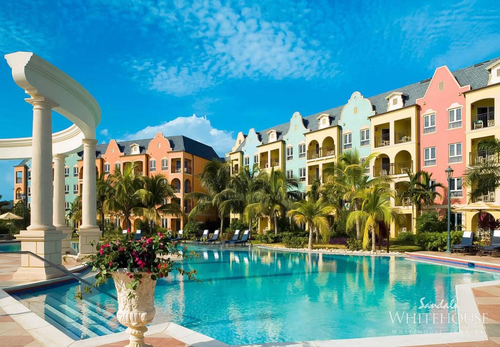 Sandals Whitehouse, one of Jamaica's lovely honeymoon destinations