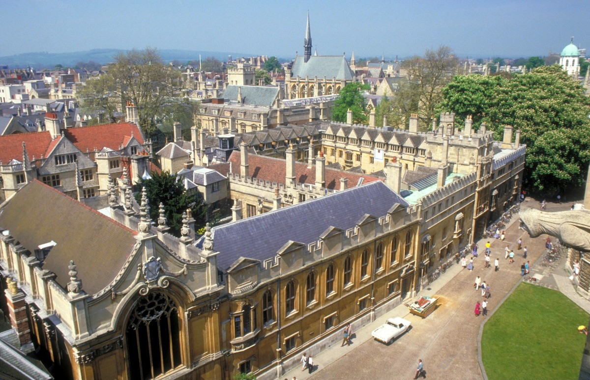 Oxford University Brasenose College / Credit: Visit Britain