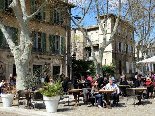 Place d'Horloge, Avignon, France