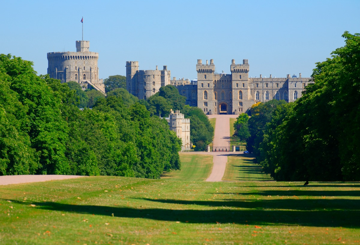 The Long Walk, Windsor Castle, England / Credit: Visit Britain