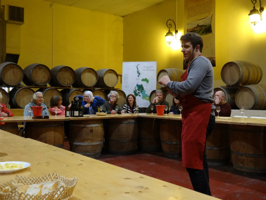 Wine tasting in Châteauneuf-du-Pape