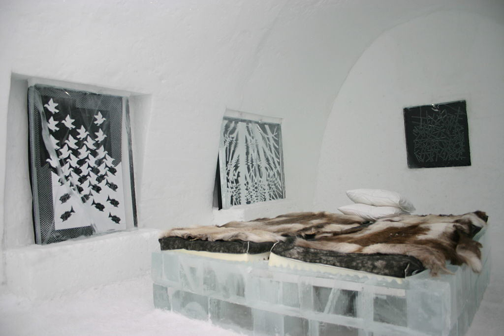 The Ice Hotel near the village of Jukkasjärvi, Kiruna, Sweden/Stephan Herz