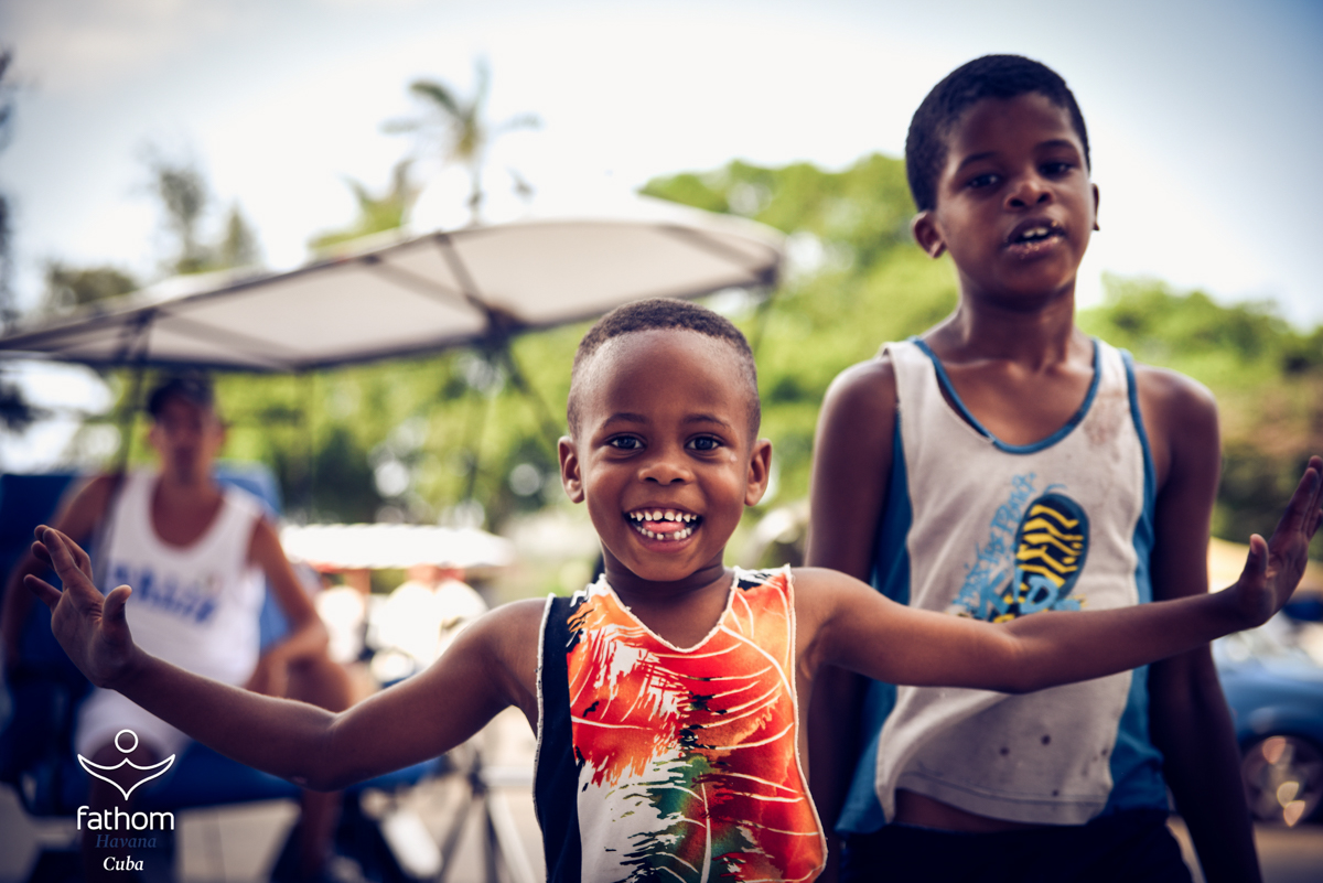 Cuban children / Fathom.org