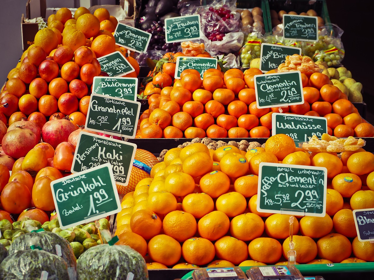 Food market / Michael Gaida CC0