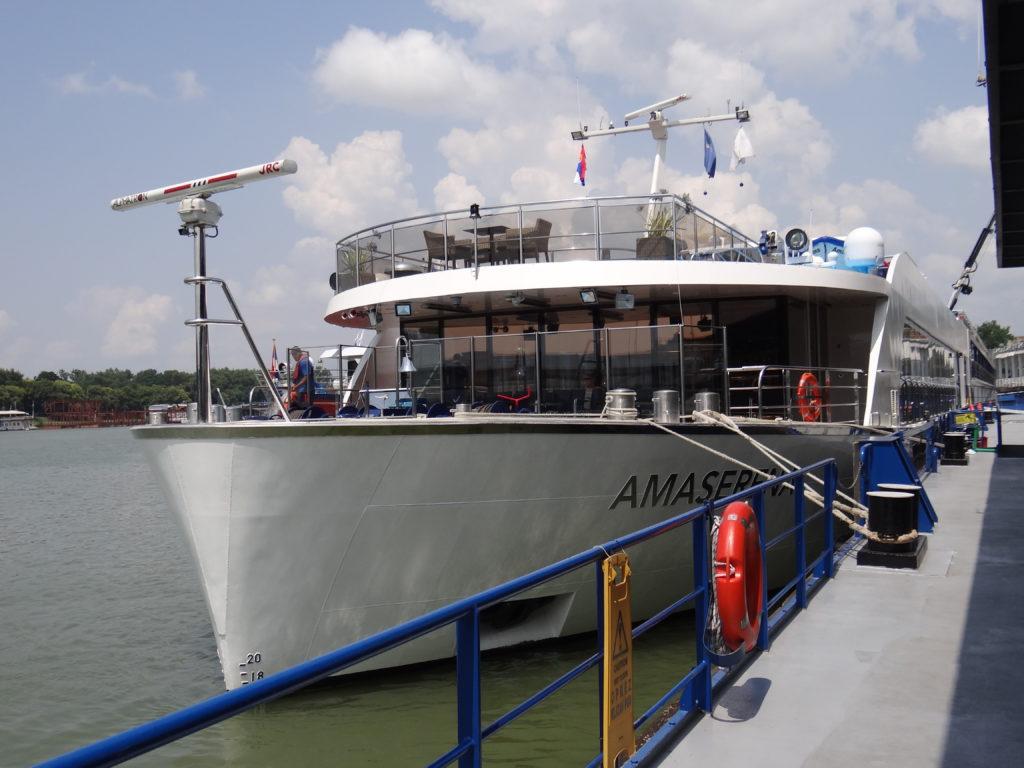 AmaWaterways' AmaSerena in Belgrade / Melody Moser