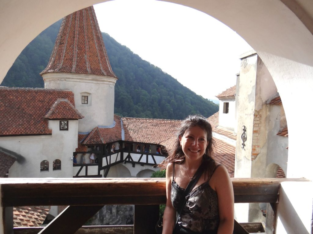 Did Dracula live here? At Bran Castle in Romania ? Melody Moser