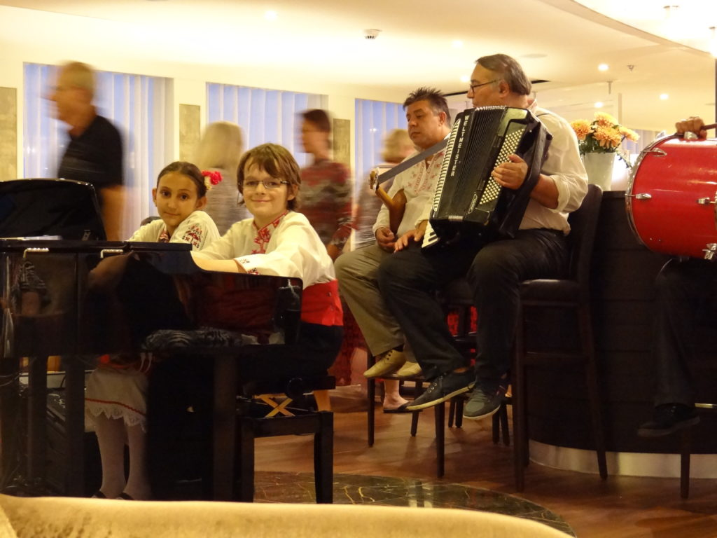 Folkloric Entertainment onboard the AmaSerena