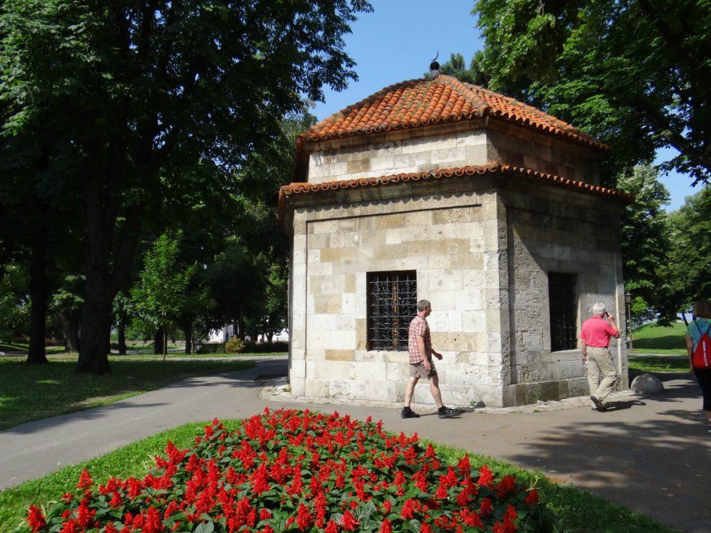 A park in Belgrade, Serbia
