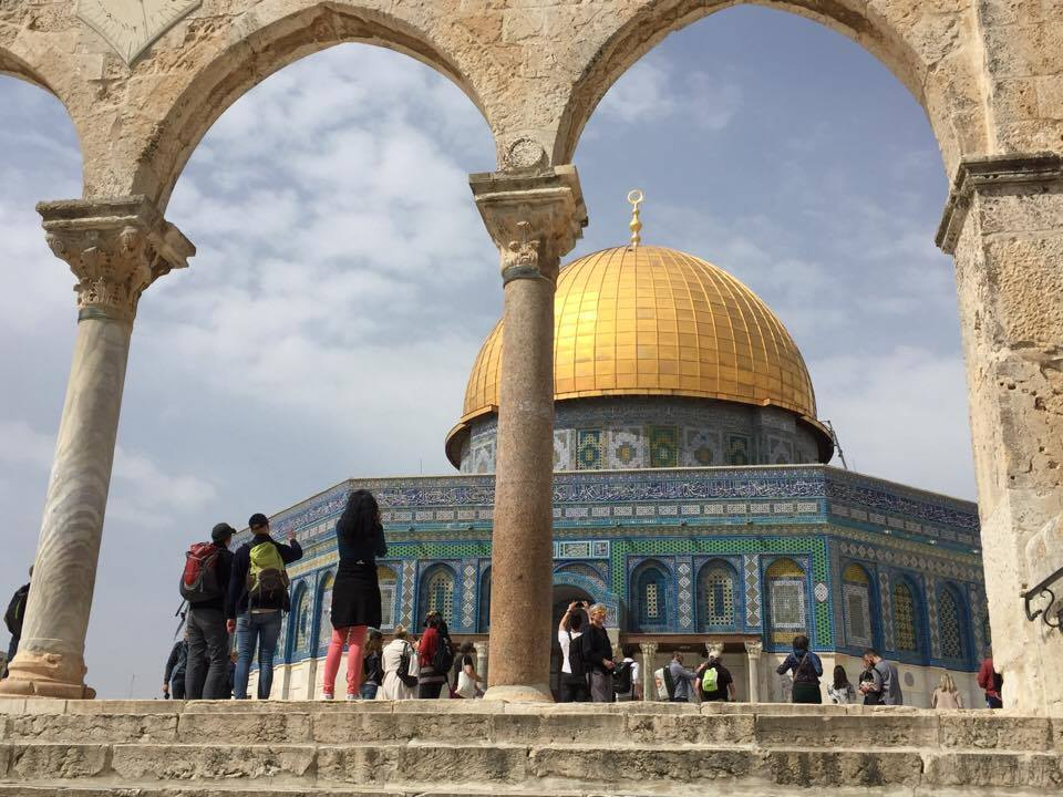 The Dome of the Rock on the Temple Mount, Jerusalem / Melody Moser