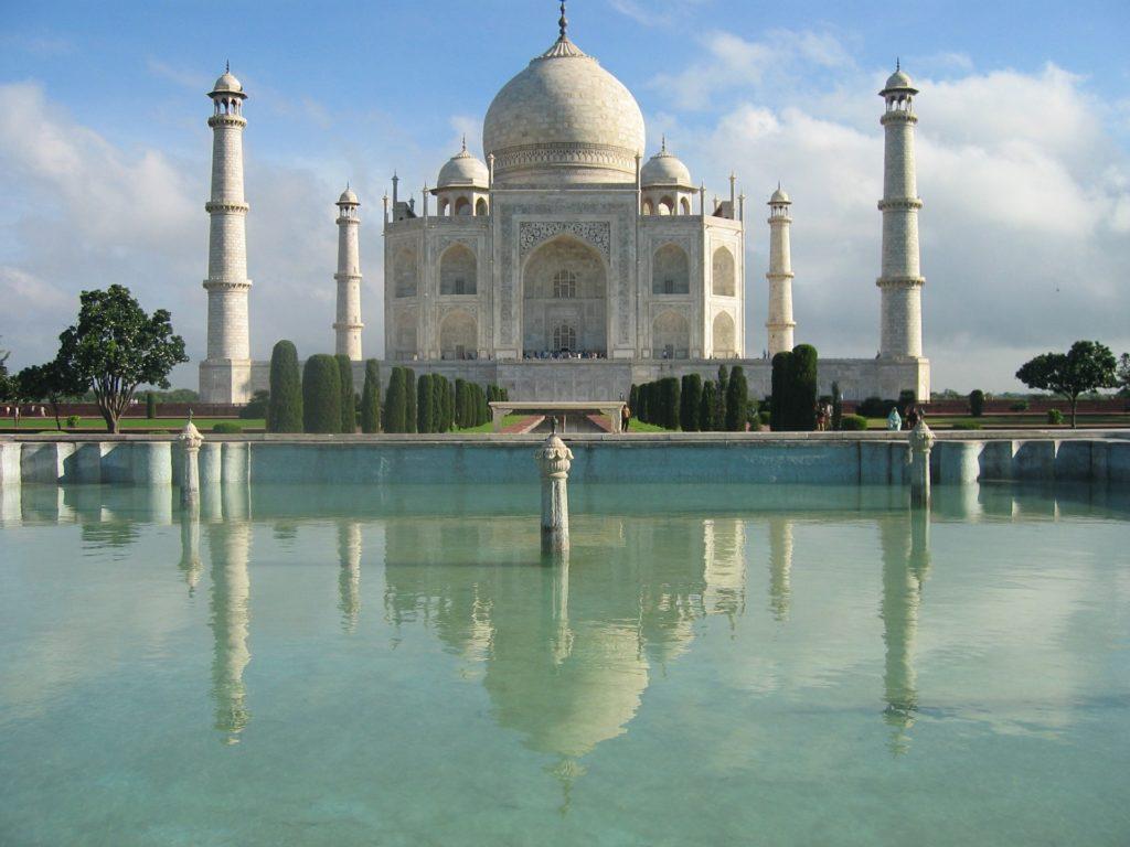 The Taj Mahal / Photo by vivekgeddam CC0 Public Domain
