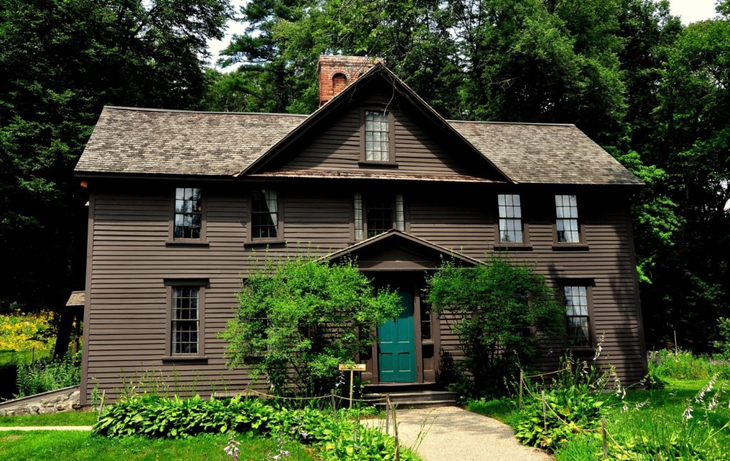 Orchard House, Louisa May Alcott's home in Concord, Massachusetts by LeeSnider