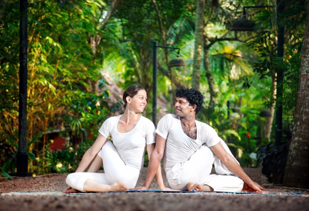 A couples yoga getaway / Image: byheaven, Deposit Photos