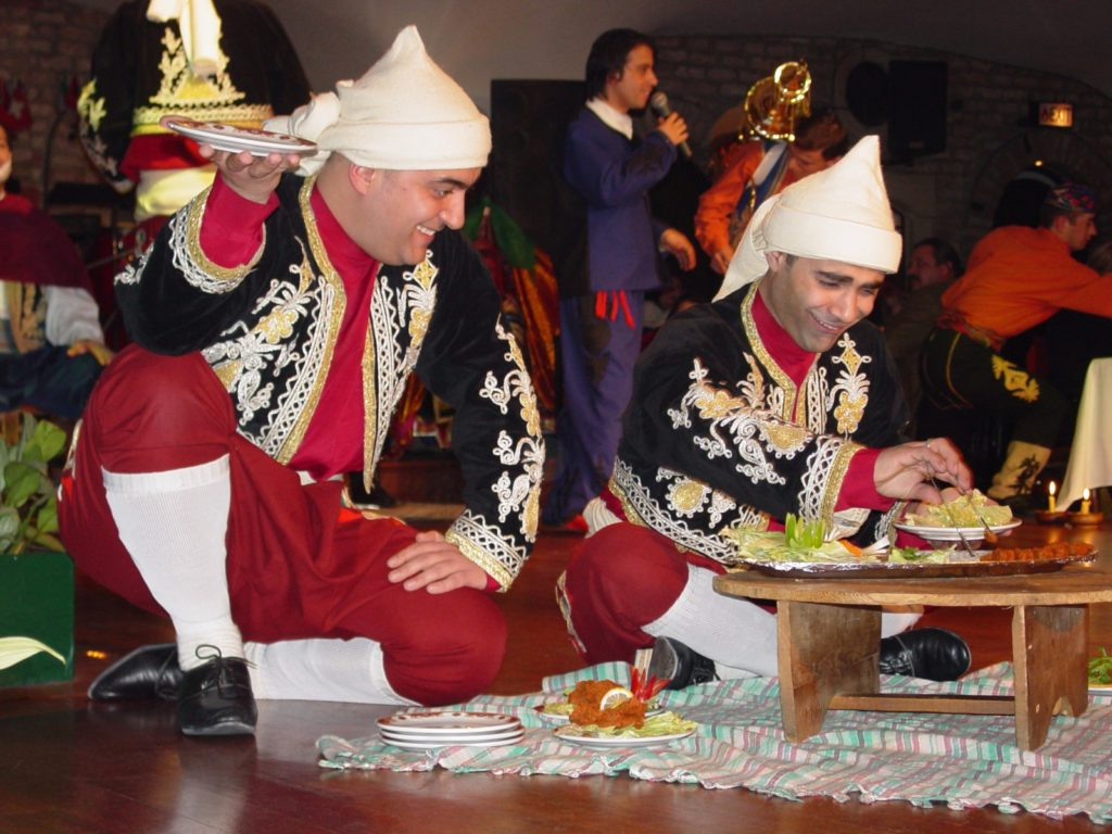 A musical dinner performance in Turkey / Copyright: Melody Moser