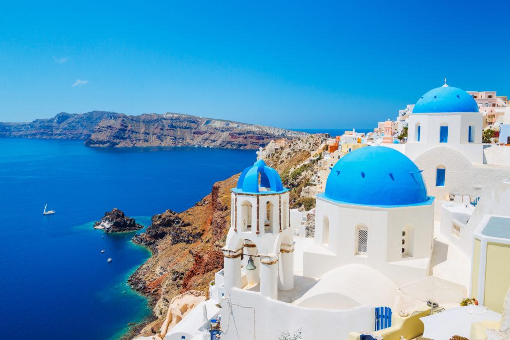 Santorini Island, Greece / Image @EpicStockMedia, Deposit Photos