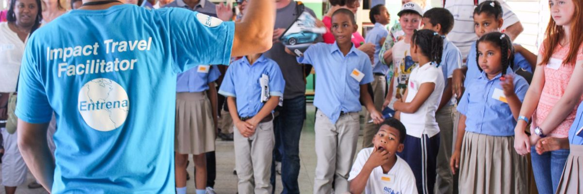 Teaching English in the Dominican Republic / Image: Fathom Travel, Ltd.