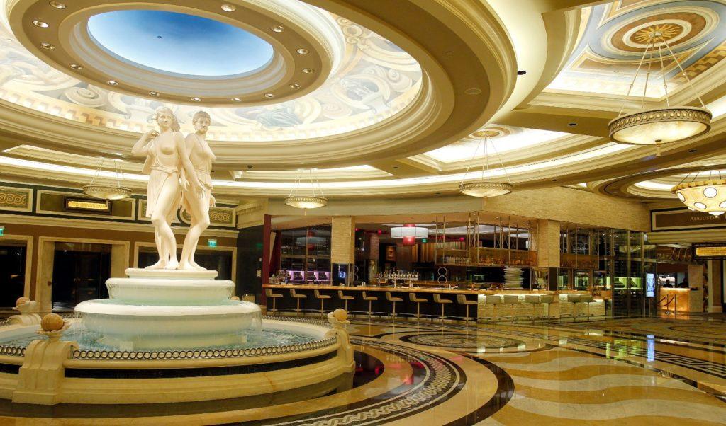 Front Lobby of Caesars Palace, Las Vegas