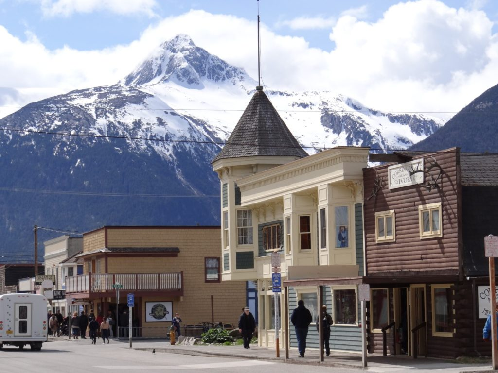 Skagway one of the most interesting and popular towns to visit in the Inside Passage / Melody Moser