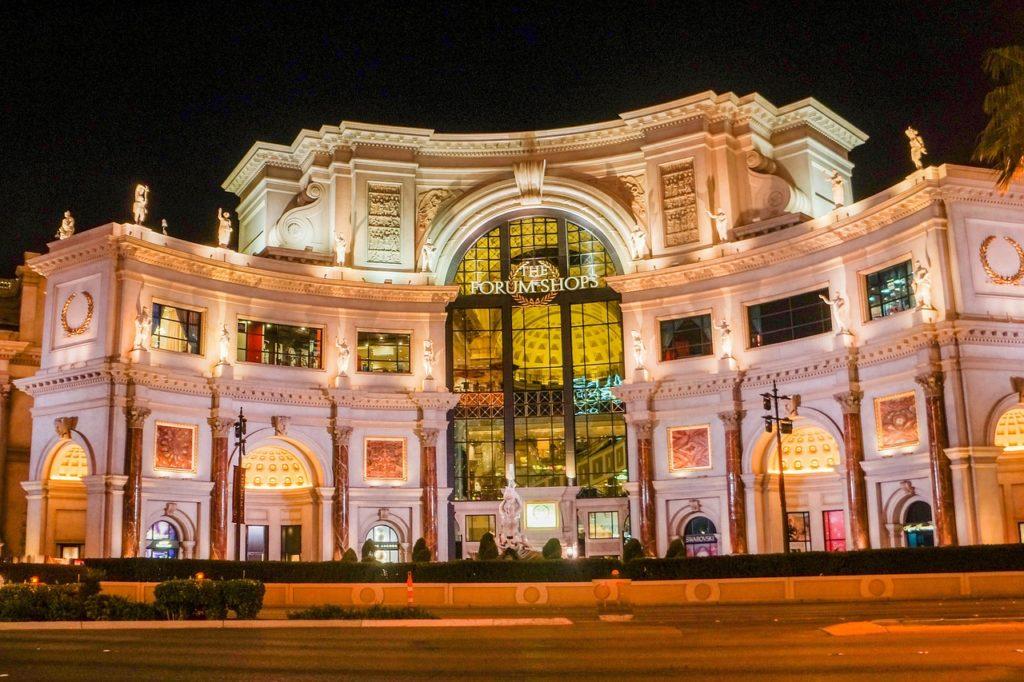 The Forum shops at Caesars Palace, Las Vegas / Image courtesy of Caesars Palace