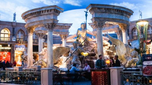 Heading to Las Vegas?  Stay at romantic Caesar's Palace